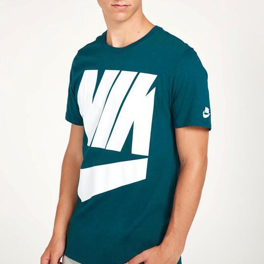 NIKE FUTURA BOX OUT Camiseta Verde Hombre