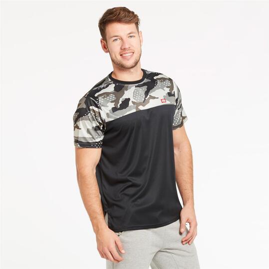 ECKO THE FORESAKEN Camiseta Camuflaje Hombre