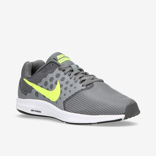 NIKE DOWNSHIFTER 7 Zapatillas Running Gris Hombre