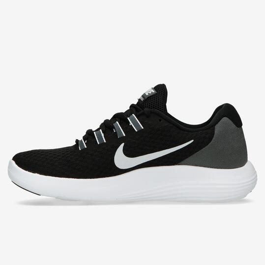 Zapatillas Running Nike Lunarconverge Negras Mujer