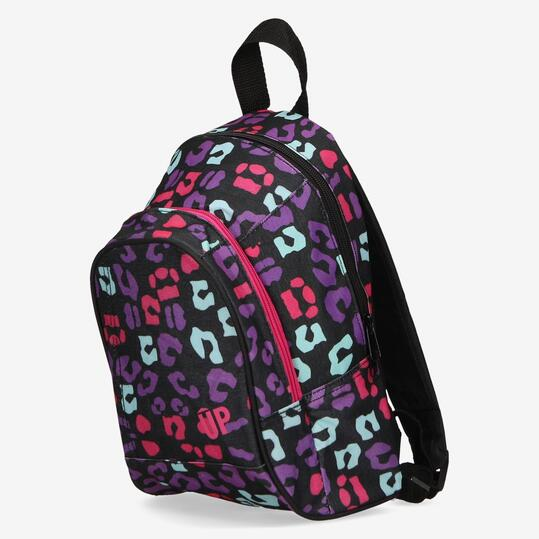 Minimochila Estampada UP Negro