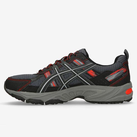 Zapatos grises Asics Gel Venture para hombre TZiSL