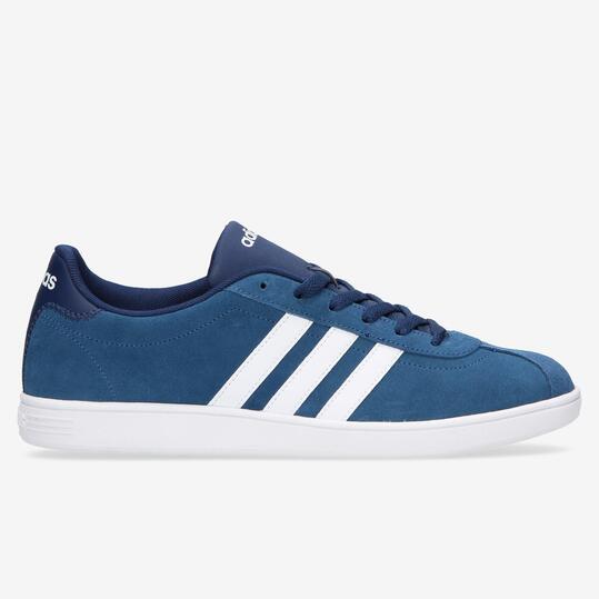 zapatilla adidas vlcourt azul