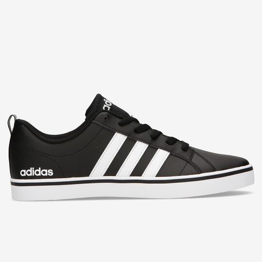 zapatillas adidas piel negras
