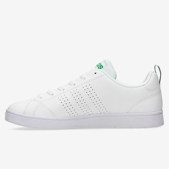 ADIDAS ADVANTAGE Zapatillas Casual Piel Blanco Mujer
