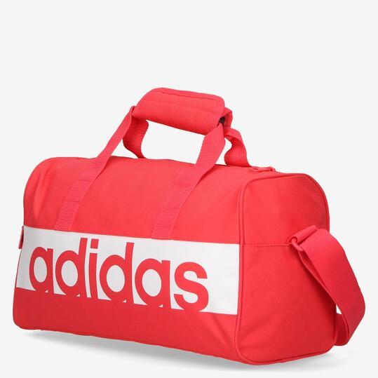 ADIDAS LINEAR PERFORMANCE Bolsa Deporte Mini Roja