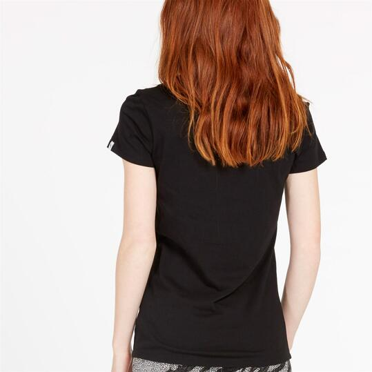 PUMA Camiseta Negra Mujer