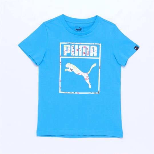 PUMA Camiseta Azul Niño ( 8-16)