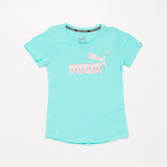 PUMA ELEMENTAL Camiseta Turquesa Niña (8-16)