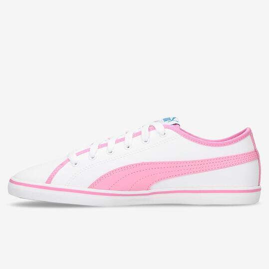PUMA Zapatillas Casual Blanco Rosa Mujer