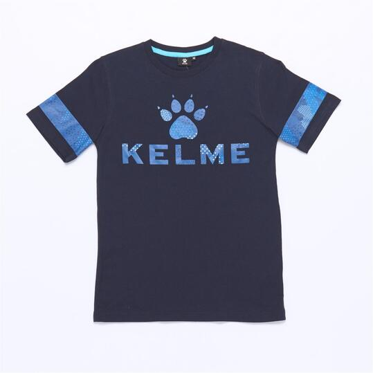 Camiseta KELME Azul Niño (10-16)
