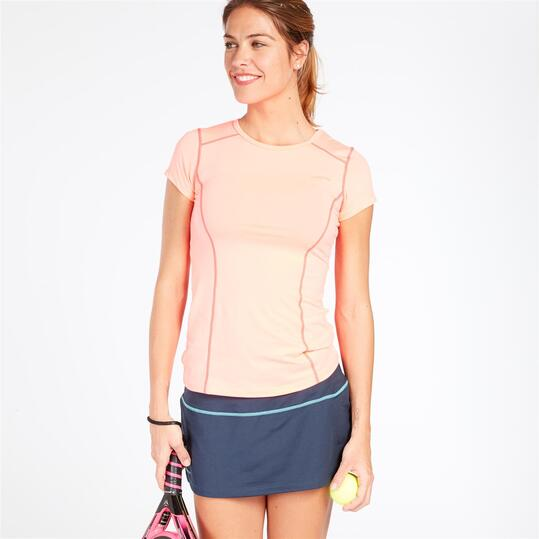 Camiseta Protón Coral Mujer