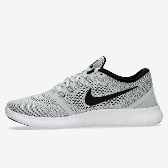 Zapatillas Running Nike Free Grises Hombre