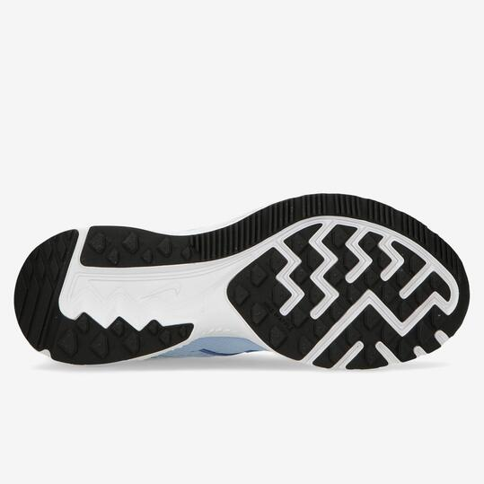 Zapatillas Running Nike Zoom Winflo Celestes Mujer