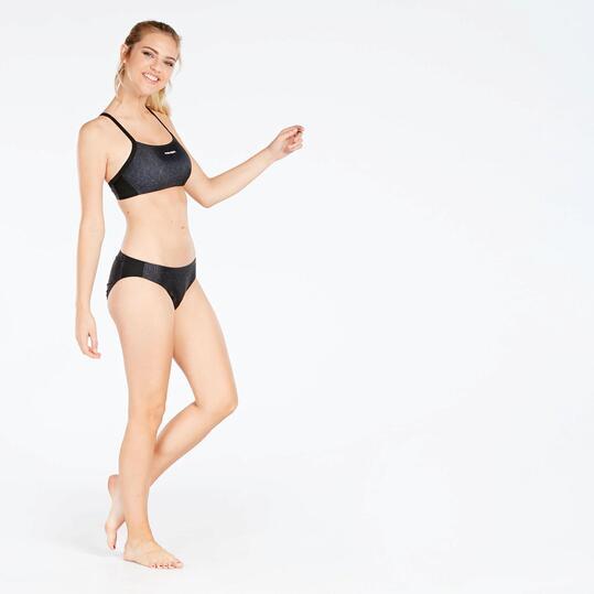 Bikini Natación Negro Mujer Paraqua