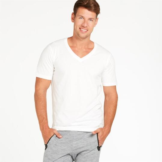Camiseta UP Blanco Hombre