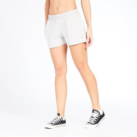 Pantalón Corto UP BASIC Gris Mujer