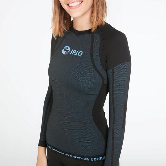 Camiseta Compresión Ipso Negra