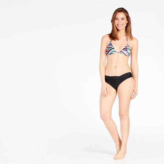 Top Bikini Triángulo Cortinilla Estampado Geométrico UP STAMPS