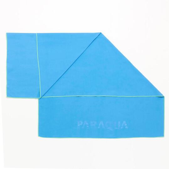 Toalla PARAQUA Microfibra Azul 80x130 Azul Verde