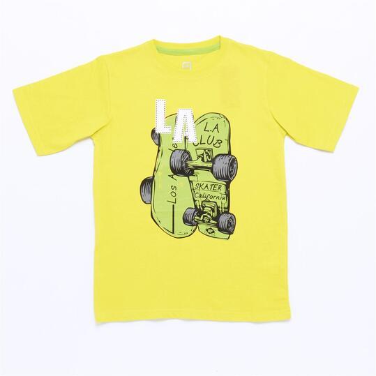 Camiseta UP STAMPS Lima Niño (10-16)
