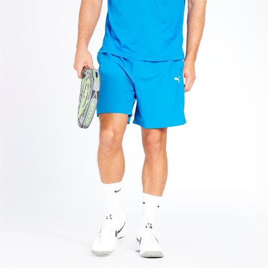 PUMA Pantalón Corto Azul Hombre