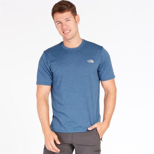 THE NORTH FACE RELAXION Camiseta Azul Hombre