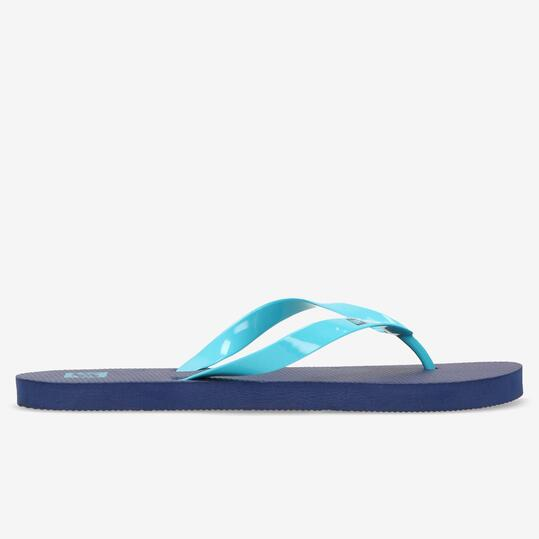 Chanclas Playa Up Marino Turquesa Hombre