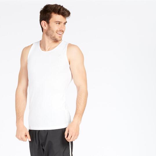 Camiseta Canalé UP BASIC Blanca Hombre