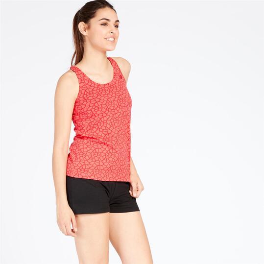 Camiseta Tirantes UP Coral Mujer