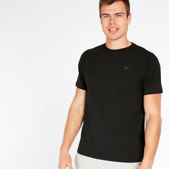 Camiseta Negra Up Basic Hombre
