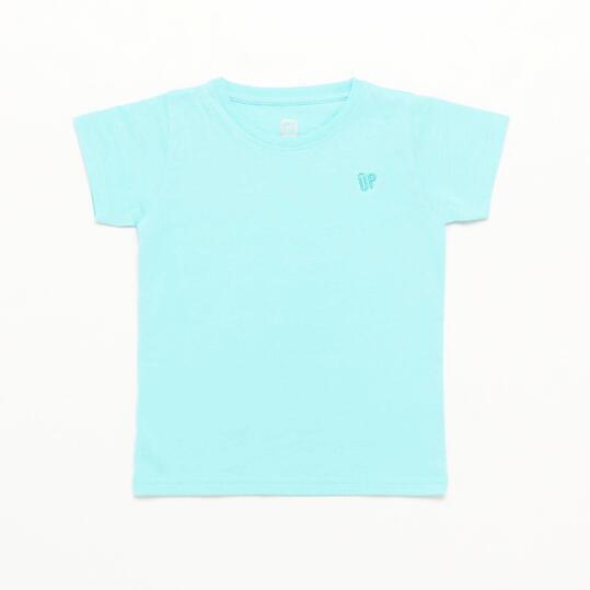 Camiseta Turquesa Up Basic Niña (2-8)