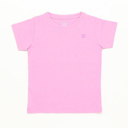 Camiseta Rosa Niña Up