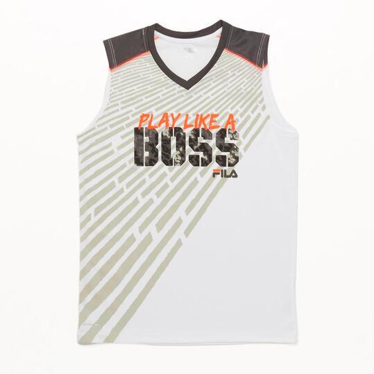 FILA CORAL Camiseta Pico Niño (6-16)