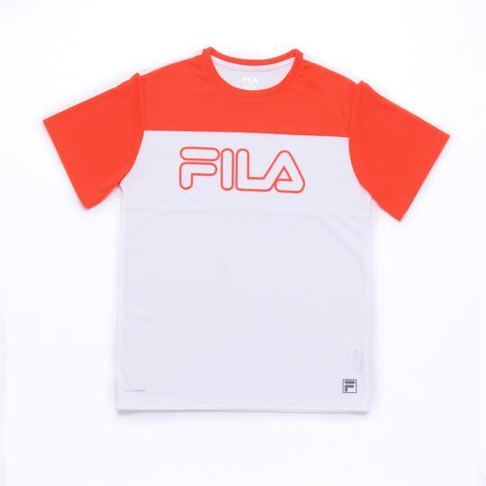 FILA CORAL Camiseta Coral Blanca Niño (6-16)