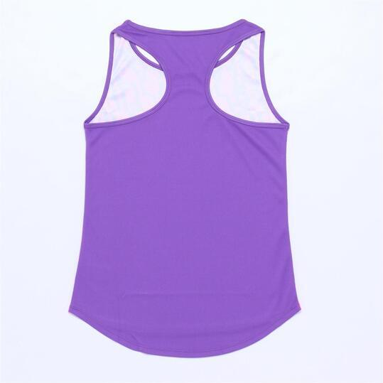 FILA PURPLE Camiseta Tirantes Morado Niña (6-16)
