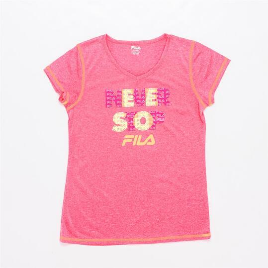 FILA PINK Camiseta Rosa Niña (6-16)