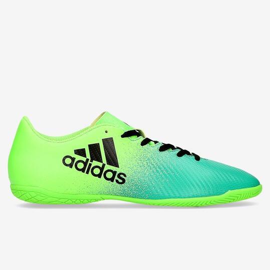 c49c6bf371f63 Botas Fútbol Sala ADIDAS 16.4 Verde Hombre