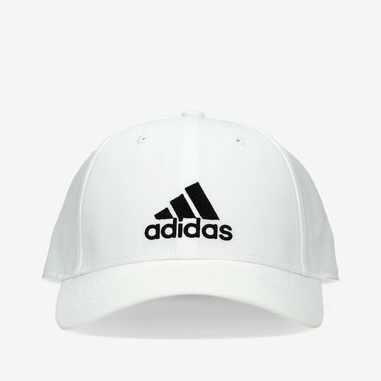 gorras hombre adidas negra y blanca