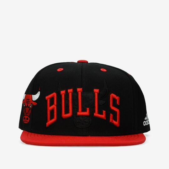 Gorra Adidas NBA Bulls Negra Roja