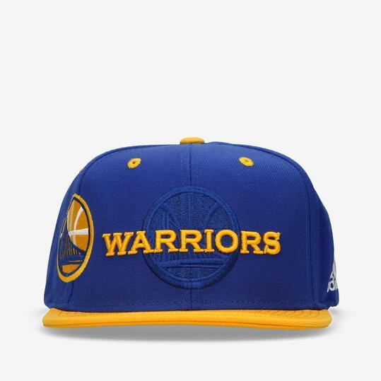 Gorra Adidas NBA Warriors Azul Amarillo
