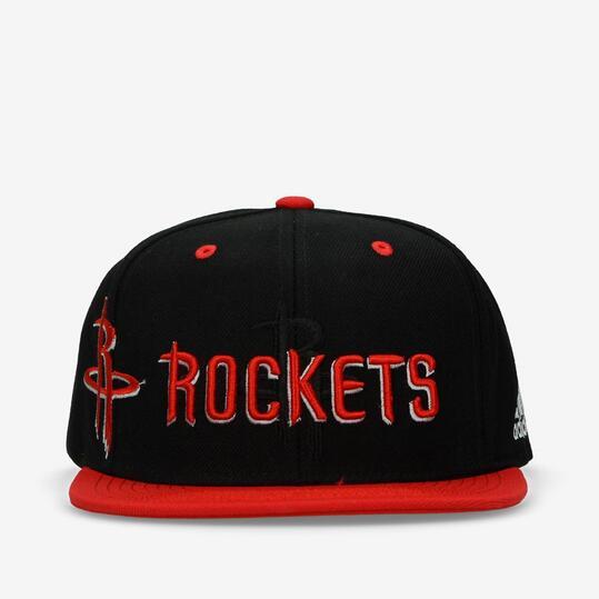 4324e1740d852 adidas Rocket Gorra Plana Negro Rojo - NEGRO