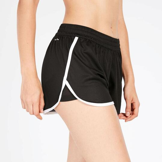 Pantalón Corto Negro Mujer Adidas