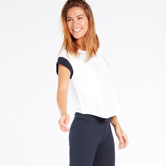 RUSSELL ATHLETIC Camiseta Blanco Mujer