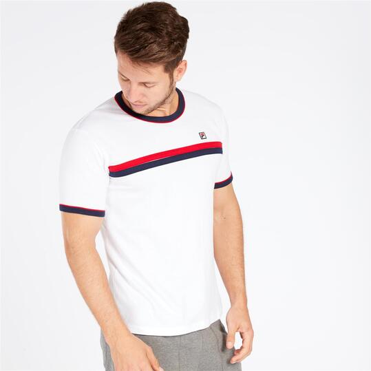 FILA RAZEE Camiseta Blanca Hombre