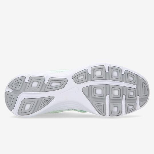 Zapatillas Running Nike Revolution 3 Verdes Mujer