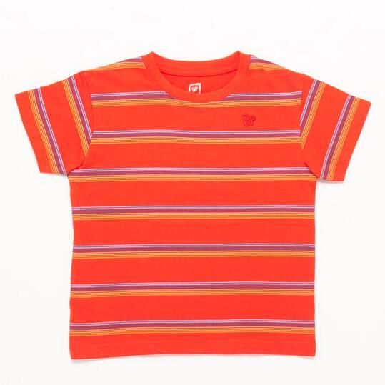 Camiseta UP BASIC Rojo niño (2-8)