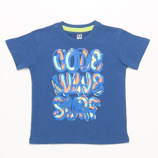 Camiseta UP STAMPS Denim Niño (2-8)