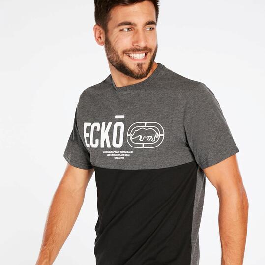 Camiseta Negra Hombre Ecko Aster Row