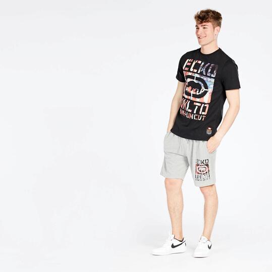 Camiseta Negra Hombre Ecko Inderpendance